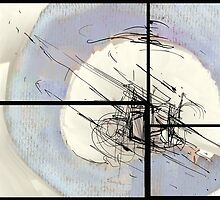 Separation (abstract) by Jin Dey
