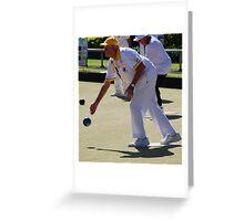 M.B.A. Bowler no. d154 Greeting Card