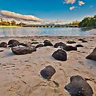 Tullabudgera Creek Burleigh Heads Gold Coast Australia by PhotoJoJo