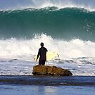 Winkipop Paddle Out by Erik Holt