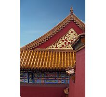 Chinese Architecture Photographic Print