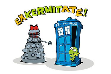 exKERMITate  by Matt Mawson