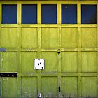 Garage Door © by Ethna Gillespie