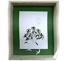 save green, plant tree Poster
