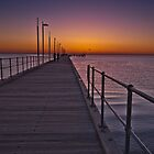 Frankston Pier at Sunset Victoria Australia by PhotoJoJo