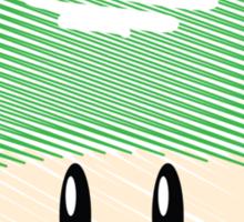 1-UP mushroom -scribble- Sticker