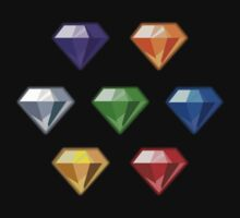 Chaos Emeralds by Calistotash
