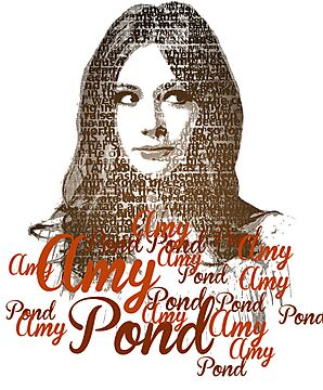 Amy Pond - Text by SkinnyJoe