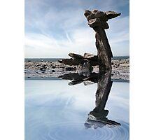 standing stones on the burren Photographic Print
