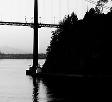 Iron Giant-Lions Gate Bridge by Ian Phares