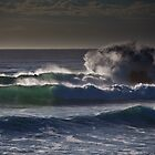 Pounding surf by Ryan O'Donoghue