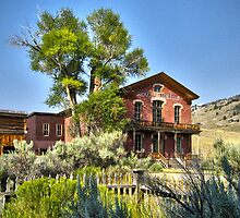 Hotel Meade - Bannack, Montana Ghost Town by NinthPlanet