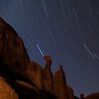 Star Trails down Park Avenue by FranJ