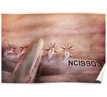 Plane - Pilot - Tropical getaway Poster
