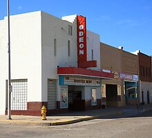 Route 66 - Odeon Theater by Frank Romeo