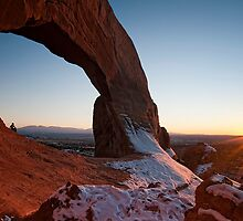 Wilson's Arch Sunset by FranJ