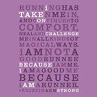 Strong Runner •Violet by Megan  Romo