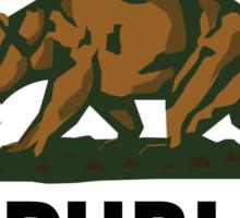 Republic of California Sticker