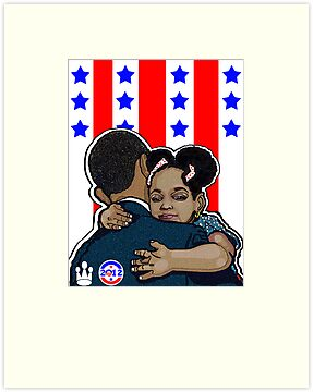 DEMOCRATIC CAMPAIGN 2012: OBAMA'S EMBRACE by S DOT SLAUGHTER