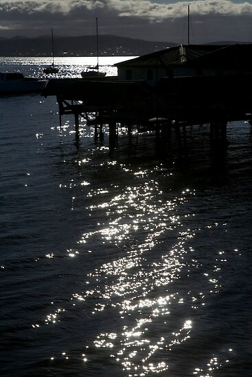seascapes #284, diamonds on the water by stickelsimages