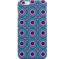 Iphone Cover - Blue Circles iPhone Case/Skin