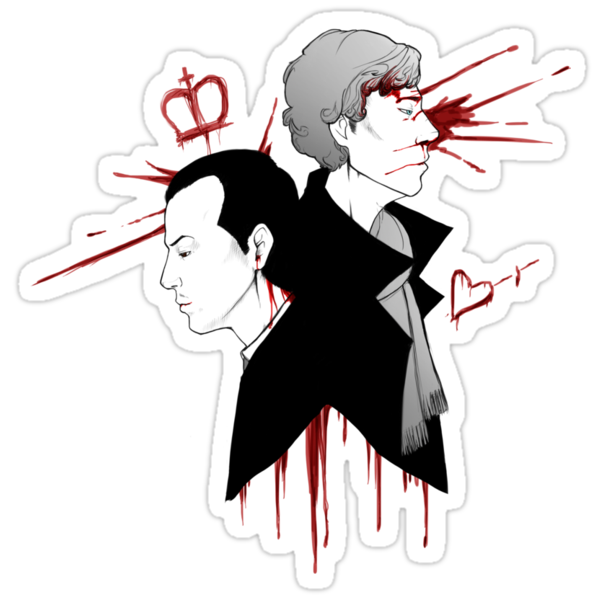 BBC Sherlock - The Reichenbach Fall by tobiejade
