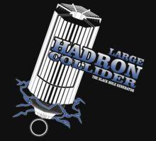 Large Hadron Collider - Black Hole Generator  by ikaszans