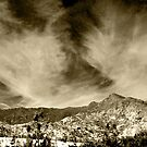And the Clouds Rolled over the Land (in Sepia) by Corri Gryting Gutzman