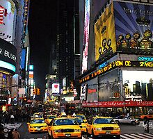 The big apple  NYC  New York City by Marie Luise  Strohmenger