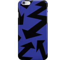 Retro 80's Lightning Arrow by 'Chillee Wilson'  iPhone Case/Skin