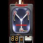 Flux Capacitor Back To The Future - iphone 4 4s, iPhone 3Gs, iPod Touch 4g case by www. pointsalestore.com