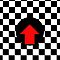 Mod Checkered Two Tone with Red Arrow by 'Chillee Wilson' by ChilleeWilson