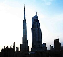 The Burj and Address Hotel by Adam Adami
