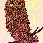 A Friendly Owl by giantrabbit