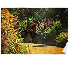 Secret Garden Paths Poster