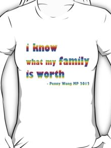 Penny Wong qanda quote T-Shirt