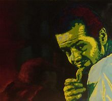 Portrait of Randle Patrick McMurphy by Phill Hatton