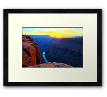 The Grand Canyon Sunrise At Toroweap Framed Print