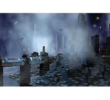 Futuristic City of Tomorrow Photographic Print