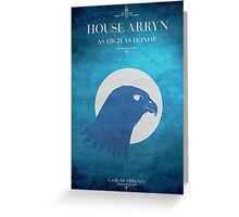 House Arryn - Game of Thrones Greeting Card