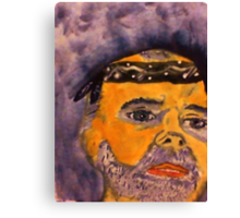 Rick in his do rag, watercolor Canvas Print