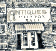 Antiques... Clinton Mall   #4 by © Bob Hall