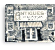 Antiques... Clinton Mall   #4 Canvas Print