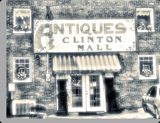 Antiques... Clinton Mall   #4 by © Bob Hall