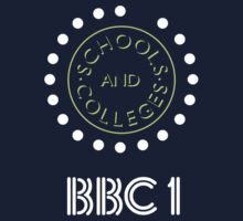 BBC Schools & Colleges clock logo by unloveablesteve