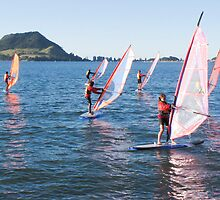 learning to windsurf by Anne Scantlebury