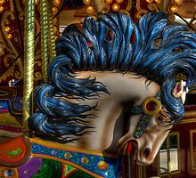 Carousel Horse Star Of The Show by Bob Christopher