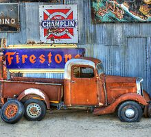 Route 66 Beauty In The Rough by Bob Christopher