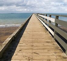 Cornwallis jetty by Anne Scantlebury