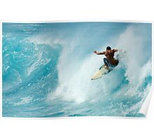 Surfing Power Poster